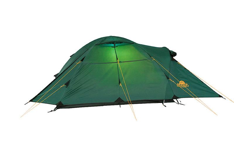 Alexika Nakra 3 туристическая палатка трехместная - 6