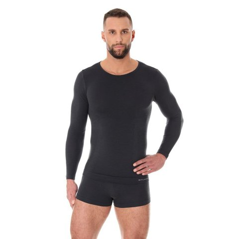 Термобелье мужское Brubeck Comfort Wool рубашка графит