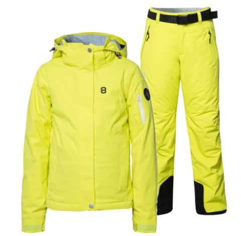 8848 Altitude Florina Inca горнолыжный костюм детский lime