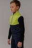Nordski Jr Premium детский лыжный жилет green-blueberry - 4