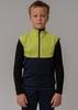 Nordski Jr Premium детский лыжный жилет green-blueberry - 1