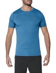 Asics Stride SS Top мужская беговая футболка синяя