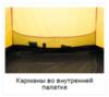 Alexika Nakra 3 туристическая палатка трехместная - 12