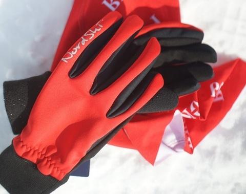 Nordski Arctic WS лыжные перчатки red