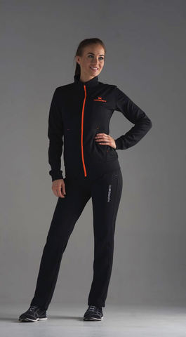Nordski Zip Base костюм женский black-orange