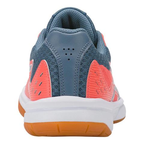 Asics Upcourt 3 кроссовки волейбольные женские коралловые