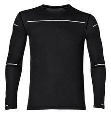 Беговая рубашка мужская Asics Lite-Show LS черная