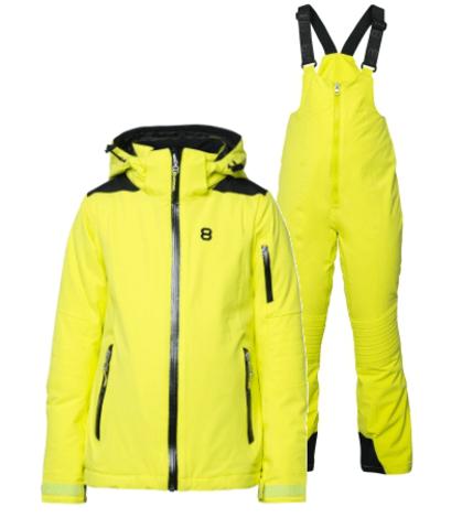 8848 Altitude Adrienne Chella горнолыжный костюм детский lime