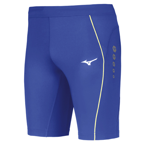 Mizuno Premium Jpn Mid Tight мужские тайтсы синие