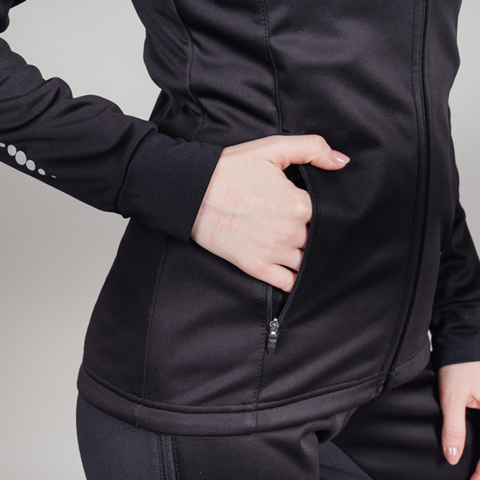 Nordski Drive лыжная куртка женская black-orchid