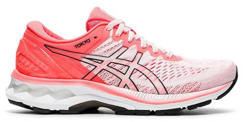 Asics Gel Kayano 27 Tokyo кроссовки для бега женские белые-коралловые