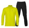 Asics Silver Woven мужской костюм для бега yellow - 1