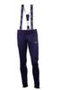 Nordski Premium детские лыжные штаны-самосбросы черные - 1