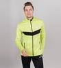 Nordski Base тренировочная куртка мужская lime-black - 1