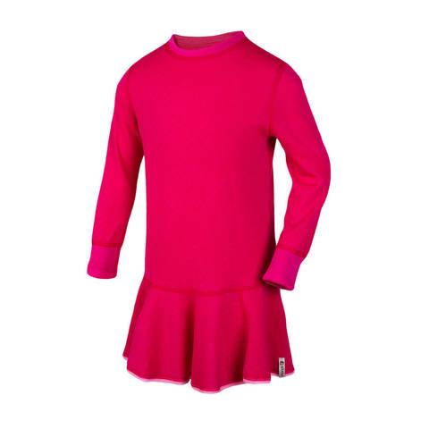 Janus Princess Wool платье термобелье для девочек малиновое