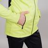 Nordski Base тренировочная куртка мужская lime-black - 4