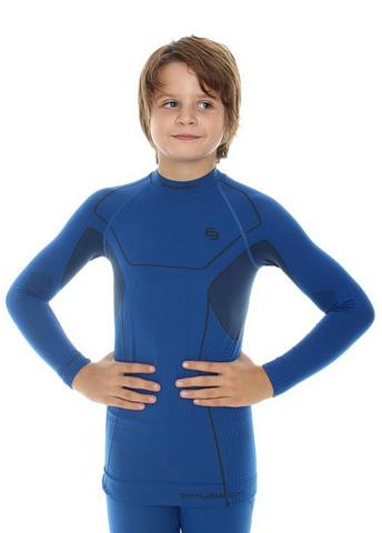 Термобелье рубашка Brubeck Thermo для мальчиков blue