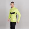 Nordski Base тренировочная куртка мужская lime-black - 2