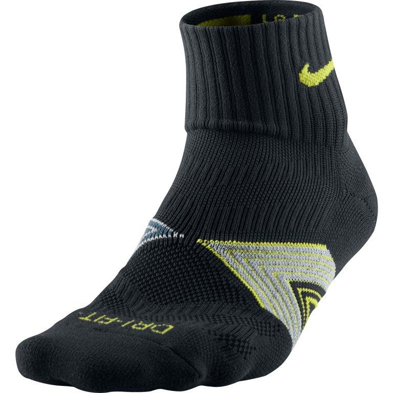 Носки Nike Run Dri Fit Socks чёрные