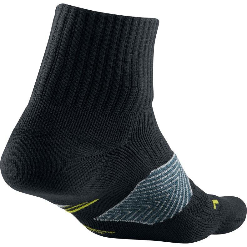 Носки Nike Run Dri Fit Socks чёрные - 2
