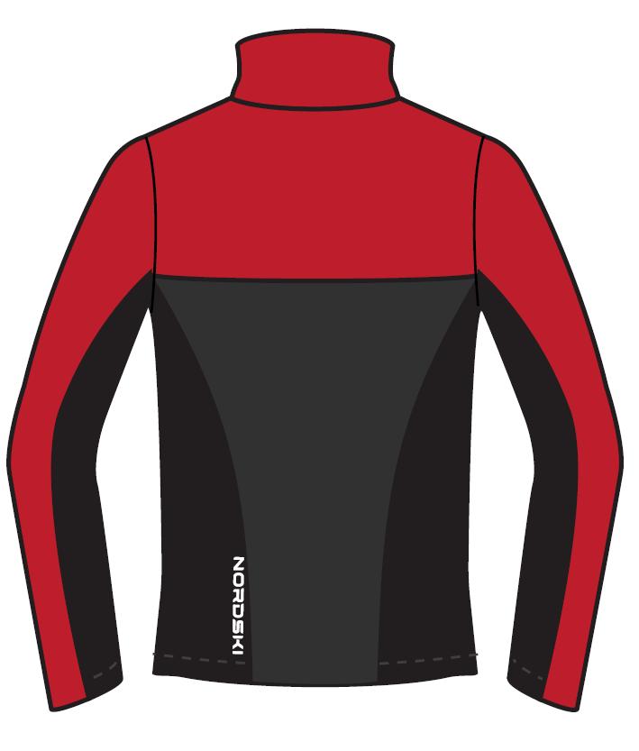 Nordski Active лыжный костюм женский красный-черный - 5