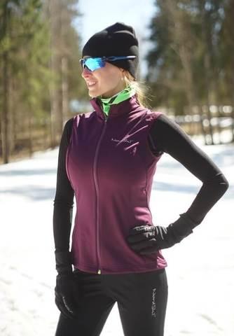 Nordski Jr Motion детский лыжный жилет purple