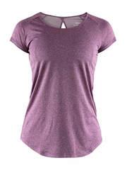 Craft Eaze SS Melange футболка женская сиреневая