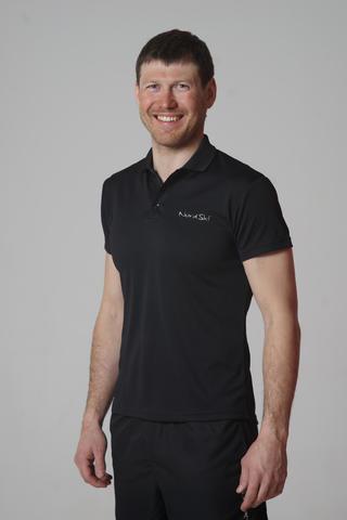 Nordski Active мужская футболка поло черная