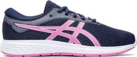 Asics Patriot 11 GS кроссовки для бега детские синие-розовые