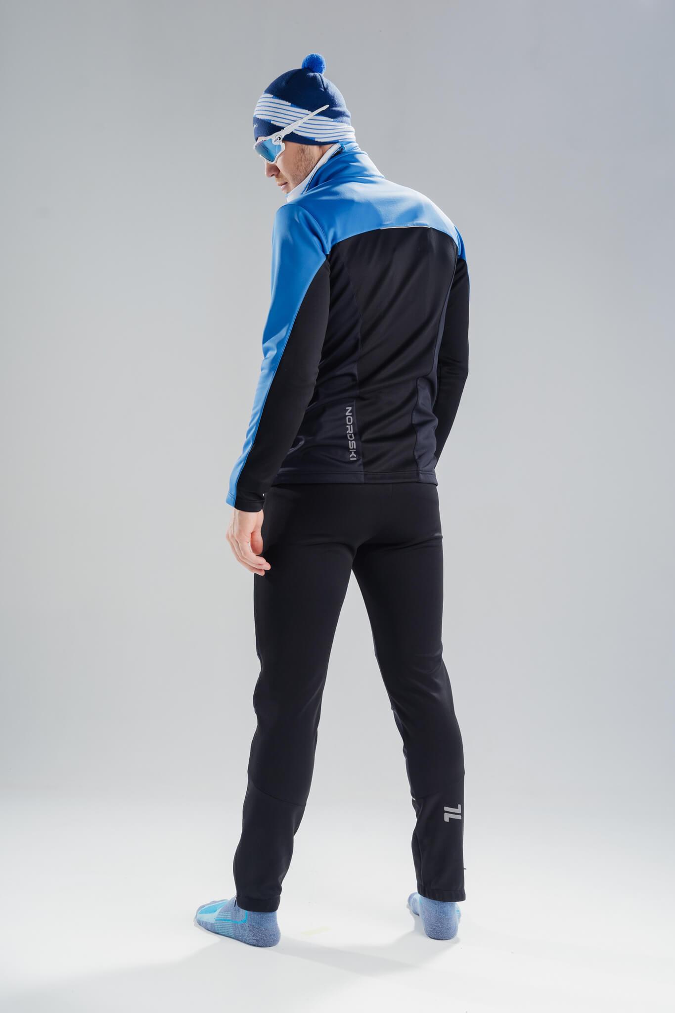 Nordski Jr Active лыжный костюм детский blue-black - 3