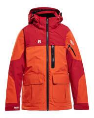 8848 Altitude Jayden 2019 детская горнолыжная куртка red clay