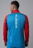 Nordski Premium лыжная куртка мужская синяя-красная - 2