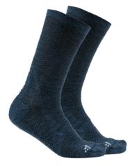 Craft Warm XC Mid носки темно-синие