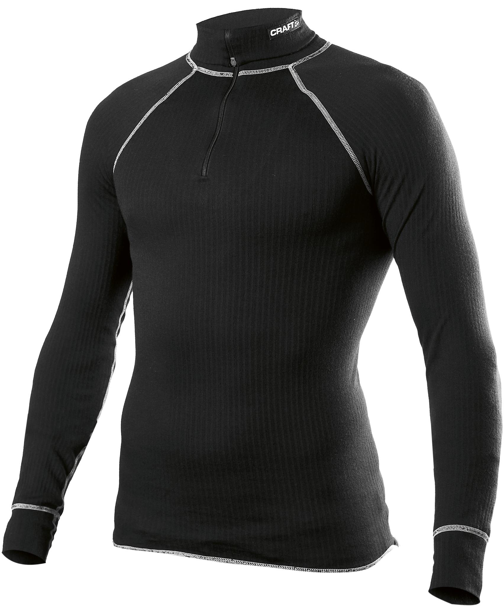 Термобелье Рубашка Craft Active Zip мужская black