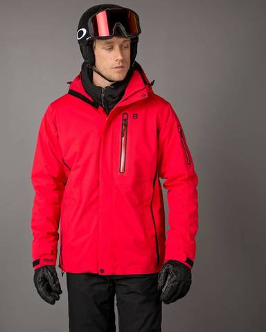 8848 Altitude Castor Jacket мужская горнолыжная куртка red