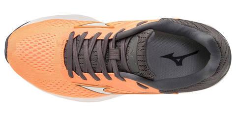 Mizuno Wave Rider 23 беговые кроссовки женские оранжевые-черные