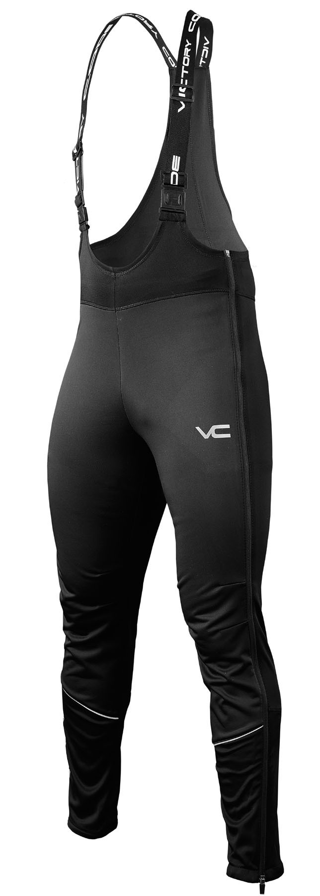 Victory Code Dynamic Warm разминочный лыжный костюм со спинкой blue - 4