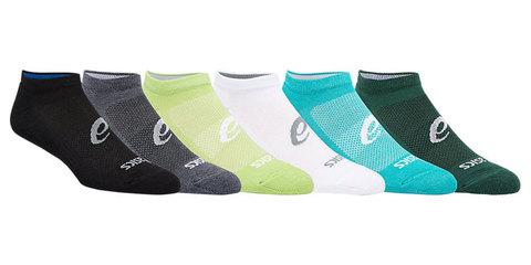 Asics 6ppk Invisible Sock комплект носков микс