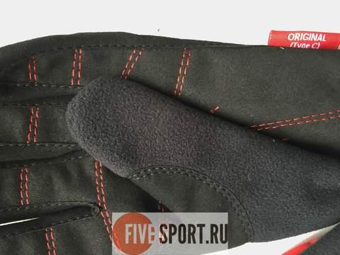 Nordski Motion WS перчатки красные-черные