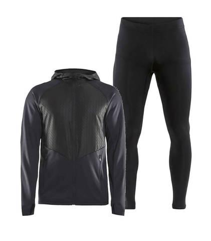 Craft Charge Essential Compression костюм для бега мужской черный