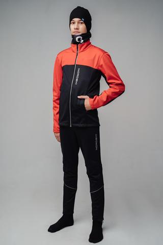 Nordski Jr Active лыжный костюм детский красный-черный