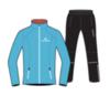 Nordski Premium Run костюм для бега женский Blue-Black - 1