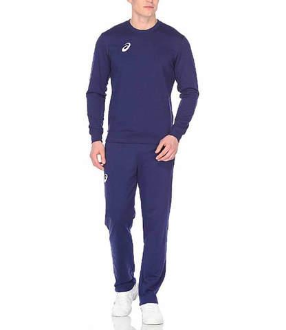 Спортивный костюм мужской Asics Knit Suit синий