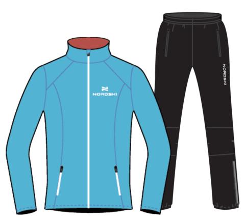 Nordski Premium Run костюм для бега женский