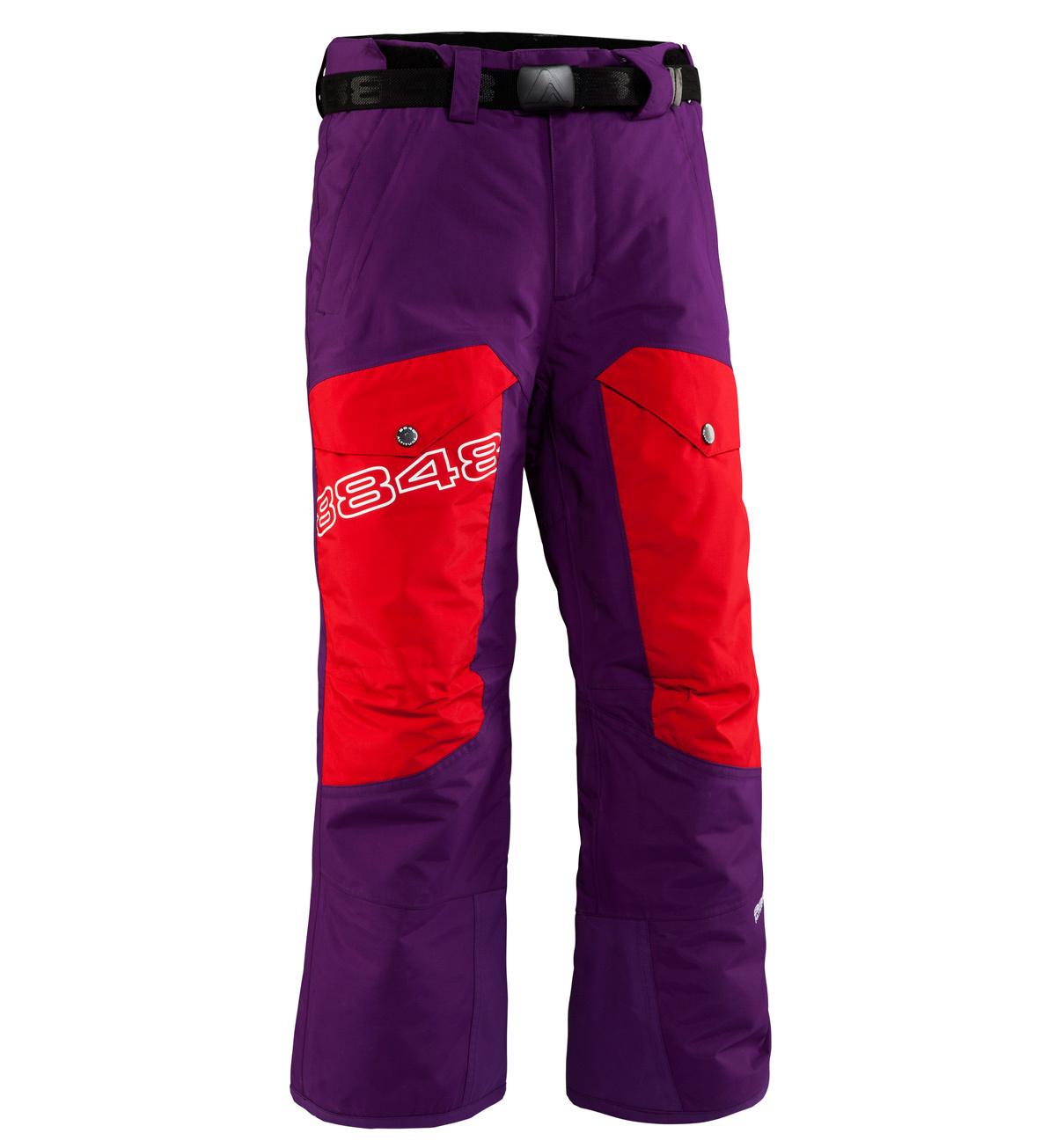 Брюки горнолыжные детские 8848 Altitude FLUX  детские Purple