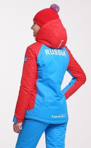 Nordski Jr National 2020 утепленная куртка детская blue