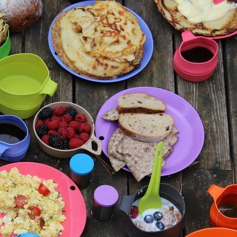 Wildo Camper Plate Flat плоская туристическая тарелка lilac