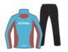 Nordski Premium Run костюм для бега женский Blue-Black - 2