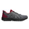 Asics Frequent Trail кроссовки-внедорожники для бега женские серые-красные - 1
