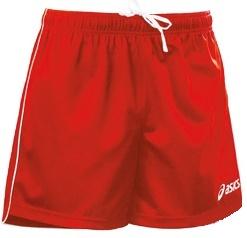 Волейбольные шорты Asics Short Zona красные